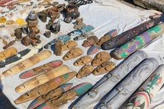 非洲义卖市场 库存图片