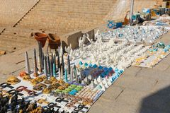非洲义卖市场 免版税库存图片