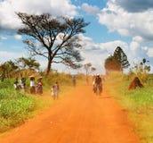 非洲乡下 库存照片
