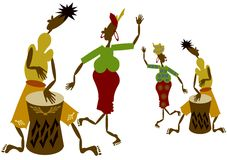 非洲人员 免版税库存图片