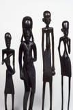 非洲人种类 免版税库存照片