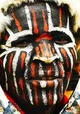 非洲人纵向 免版税库存照片