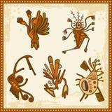 非洲人装饰部族向量 库存图片