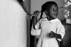 非洲儿童儿童肯尼亚学校 图库摄影