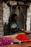 非洲儿童肯尼亚工作 图库摄影