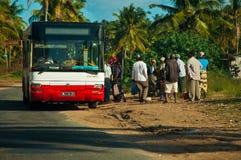 非洲公共交通 免版税库存图片