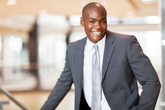 非洲公司行政人员 库存照片