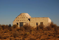 非洲农厂房子 库存图片