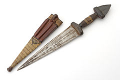 非洲刀子 库存图片