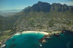 非洲南海湾的阵营 免版税库存照片