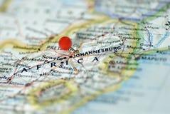 非洲南的约翰内斯堡 库存图片