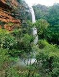 非洲南wateralls 库存照片