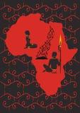 非洲原始 免版税库存图片