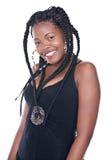 非洲发型 免版税库存图片