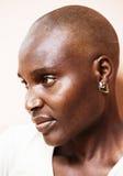 非洲可怜的妇女 免版税库存图片
