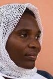 非洲回教妇女 免版税库存图片