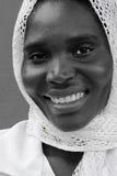 非洲回教妇女 库存照片