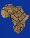 非洲天旱 库存照片