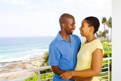 非洲夫妇 免版税库存图片