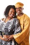 非洲夫妇 库存照片