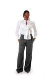非洲女商人 免版税库存照片