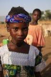 非洲女孩 免版税图库摄影