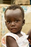非洲婴孩在加纳 库存照片