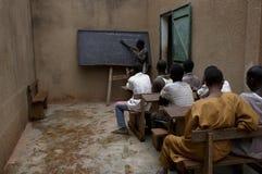 非洲学员 图库摄影