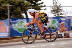 非洲安东ironman南风暴triathlete 免版税库存图片