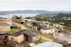 非洲小镇 库存图片