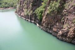 非洲峡谷 库存照片