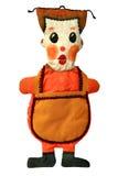 非洲工艺玩偶 免版税图库摄影