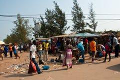 非洲市场 免版税图库摄影