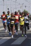 非洲收藏页马拉松布拉格 库存照片