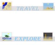 非洲旅行 免版税库存图片
