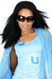 非洲时装模特儿 图库摄影