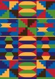 非洲模式 免版税库存图片