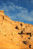 非洲横向岩石 库存照片