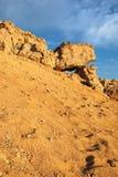 非洲沙漠形成使岩石环境美化 库存照片