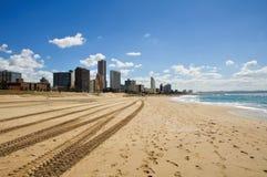非洲海滩都市风景南的德班 免版税图库摄影