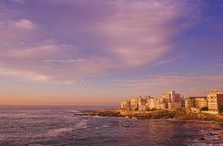 非洲海角点海运南城镇 免版税库存照片