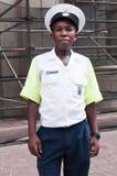 非洲海角警察南城镇 免版税库存图片