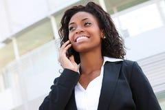 非洲美丽的妇女 免版税库存照片