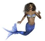 非洲美人鱼 向量例证