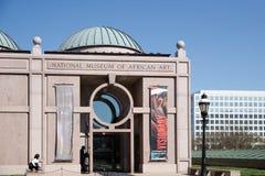 非洲艺术国家博物馆是位于华盛顿特区,和之一的非洲美术馆十九在史密森学会的保护下 C 免费入场和开门364天一年,它是被访问的自然历史博物馆在世界上 免版税库存照片