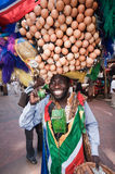 非洲艺术家海角s南街道城镇 库存图片