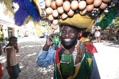 非洲艺术家海角s南街道城镇 图库摄影