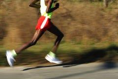 非洲行程赛跑者 免版税库存图片