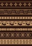 非洲装饰品 免版税库存图片
