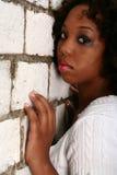 非洲裔美国人的女孩 免版税图库摄影